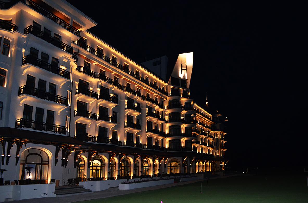 L'hôtel Royal : Réhabilitation